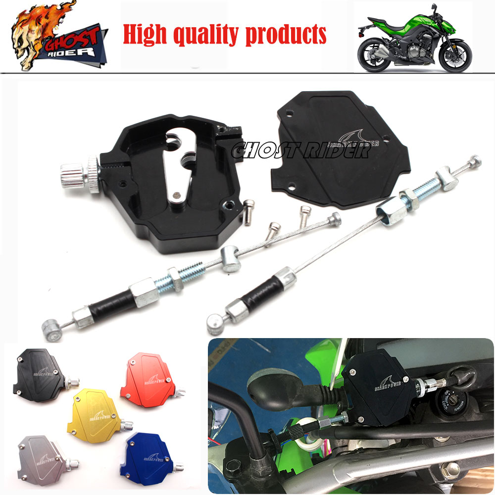 For Triumph Speed Triple /R 1050/675 Motorcycle Accessories CNC Aluminum Stunt Clutch Easy Pull Cable System NEW 5 colors fxcnc universal stunt clutch easy pull cable system motorcycles motocross for yamaha yz250 125 yz80 yz450fx wr250f wr426f wr450