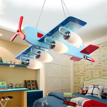 Morden LED Pendant Lights Living Childrens Aircraft Room Lamp Creative Cartoon Personality Bedroom Hanging