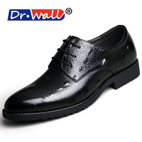 Men Leather Shoes Casual New 2017 Genuine Leather Shoes Men Oxford Fashion Lace Up Dress Shoes