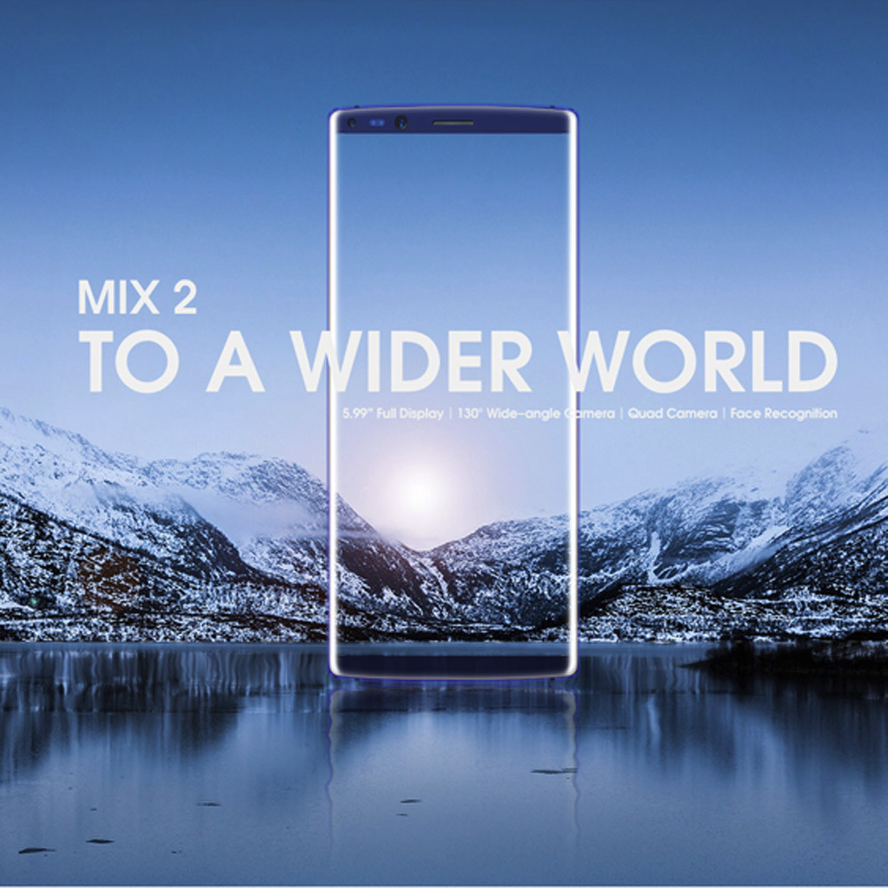 DOOGEE MIX2 5.99 Inch Face Unlock 6GB+128GB Octa Core 4G Smartphone Quad Camera Apr18 doogee x5 max cell phone android 6 smartphone unlocked 5 0 dual sim 8mp camera apr18