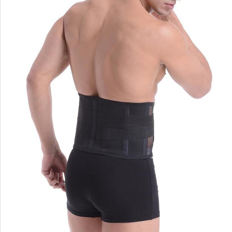 Four Steels Breathable Lumbar Support Belt Back Braces Waist Treatment of Lumbar Disc Herniation Lumber Muscle Strain AOFEITE breathable medical waist support wrap brace belt lumbar disc herniation psoatic strain stainless steel rod