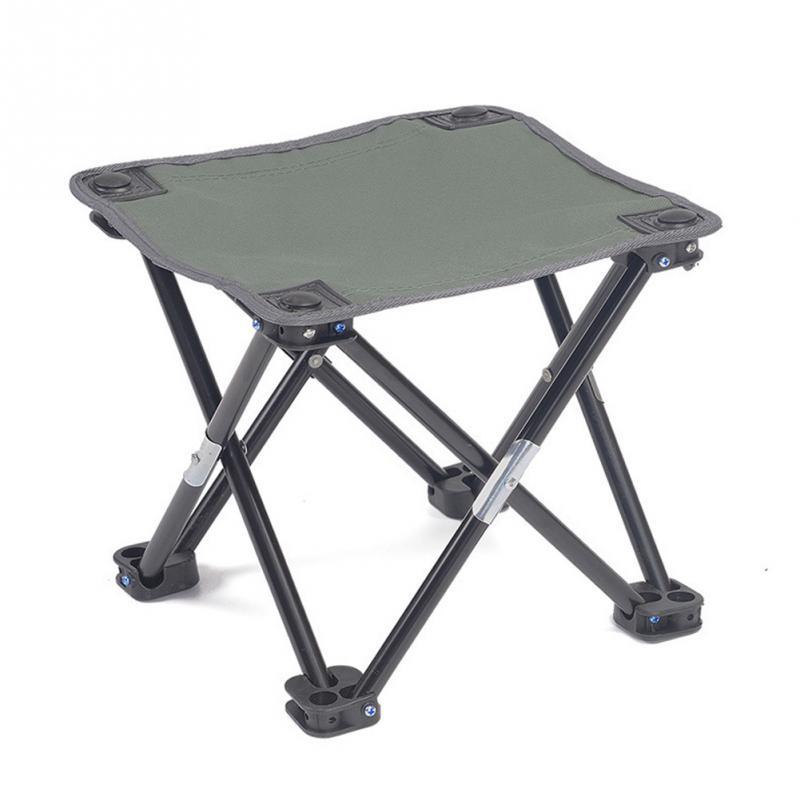 Ao ar livre Cadeira Dobrável Portátil Mini