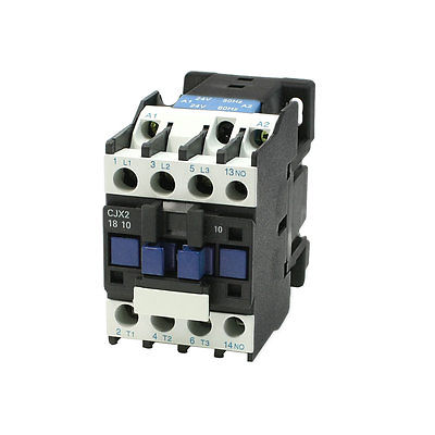 CJX2-18 DIN Rail 3 Phase 1NO Motor Controller AC Contactor 660V 32A sayoon dc 12v contactor czwt150a contactor with switching phase small volume large load capacity long service life