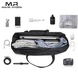Image 4 - Mark Ryden Fashion WaterProof Travel Bag Large Capacity Bag Men Nylon Folding Bag Unisex Luggage Travel Handbags