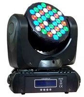 4pcs/lot 36pcs*3W RGBW led beam moving head stage light led mini wash disco lighting with dmx512 for night club