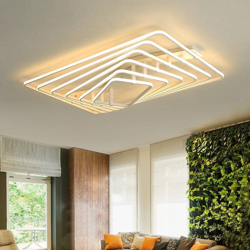 Modern LED Dimming Ceiling lights bedroom Ceiling lamps home luminaires Aluminum fixtures living room Ceiling lighting