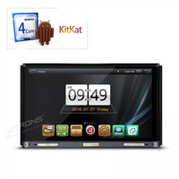 7 Quad Core Android 4 4 4 OS Double Din Car DVD 2 Din Car Radio
