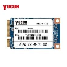 YUCUN MSATA 16 ГБ 32 ГБ 60 ГБ 120 ГБ 240 ГБ Internal Solid State Drive 64 ГБ 128 ГБ 250 ГБ 256 ГБ PCIE Tablet PC ультрабуки ноутбука