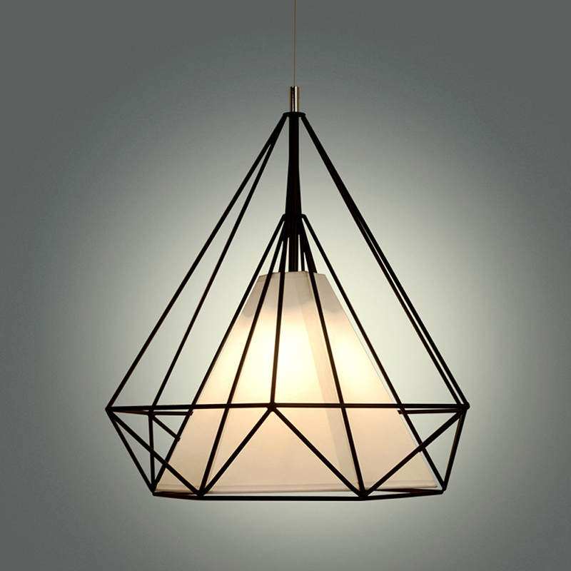Modern Home Decor Lighting Wrought Iron Pendant Lamp Vintage Pendant Light Fixtures Suspension Luminaire Design Hanging Lamp E27 ems free shipping fashion pendant light cloth lamp cover crystal pendant light wrought iron candle lamp rustic lighting bq6 3