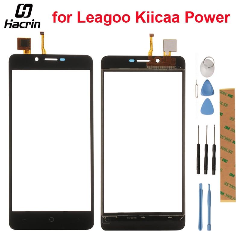 Leagoo Kiicaa Power Touchscreen Digitizer Glass Touch Panel Ersatz Für Leagoo Kiicaa Power Smart Telefon + Werkzeuge