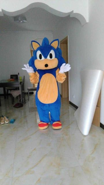 2018 New Mascot Costumes Christmas Halloween Outfit Fancy Suit Free Shipping Sonic The Hedgehog & 2018 New Mascot Costumes Christmas Halloween Outfit Fancy Suit Free ...