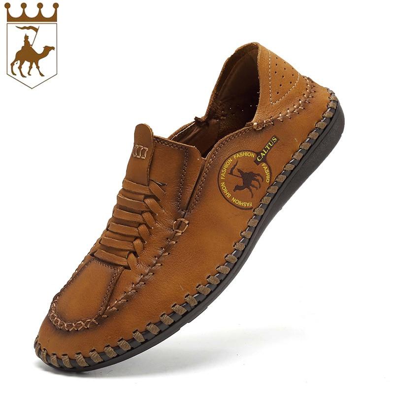 BACKCAME Γνήσια Δερμάτινα Παπούτσια - Ανδρικά υποδήματα - Φωτογραφία 3