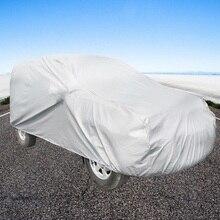 Автомобильный Крытый Открытый полный автомобильный чехол singledeck Sun UV снег Защита от пыли Размер S M L XL XXL Материал peva Wh