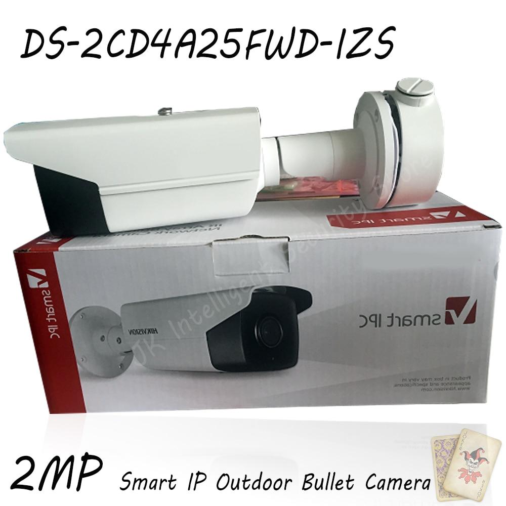 Hikvision DS-2CD4A25FWD-IZS Original English Oversea Version 2MP Smart IP Outdoor Bullet Camera Motorized lens Upgradable видеокамера ip hikvision ds 2cd2642fwd izs цветная