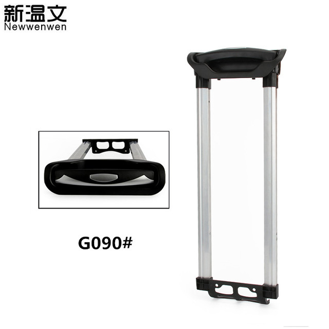 cc8edec977ba US $35.0 30% OFF|Luggage Replacement Telescopic Aluminum Built in Trolley  Handle Pull Rod with Transparent handle for Luggage/Suitcase G090#-in Bag  ...