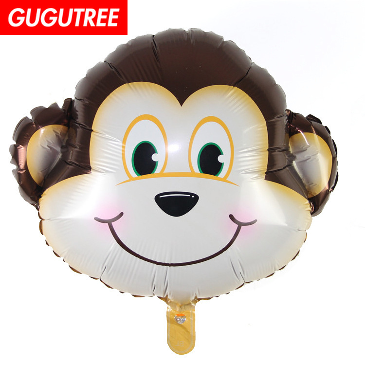 Decorate 65x56cm brown monkey foil balloons wedding event christmas halloween festival birthday party HY-291
