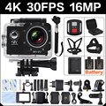 4K 30FPS 16MP WIF Action Camera 2.0 Sports HD DV Orignal Cam underwater 30M waterproof yi 4 K go 4 pro hero 3 Camera Action Cam