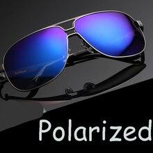 JIE.B Men Metal Polaroid Sunglasses Summer Style Shade Fashion Gafas Onassis Glasses oculos de sol