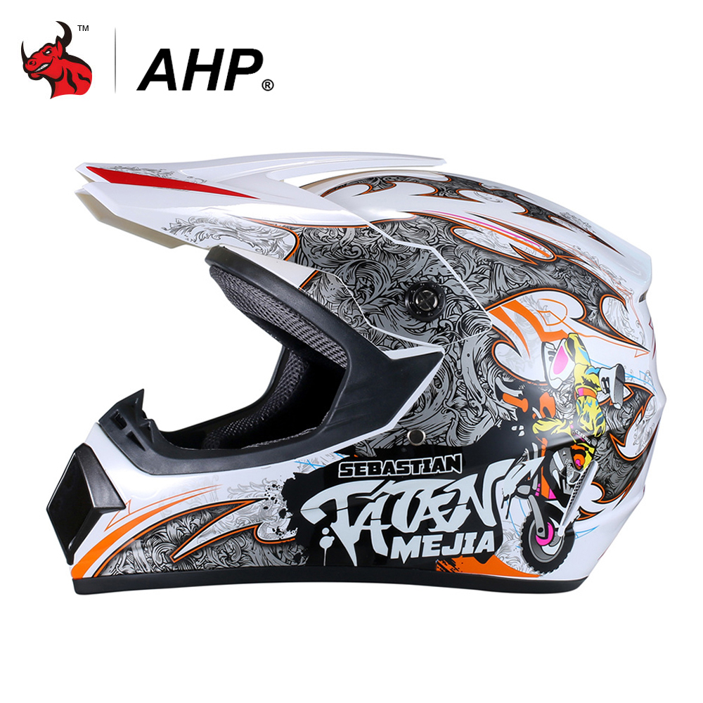 AHP Motorcross Helmet Casco Moto Helmet Motorcycle Helmet Motorbike Dirt Bike ATV MTB DH Downhill Racing