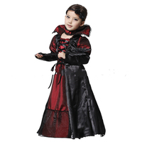 Hot Halloween Costume Children Girls Kids Princess Vampire Cosplay Costumes Fancy Dress Carnival Clothing Party