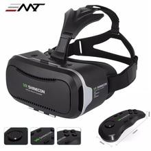 """Новый VR Shinecon II 2.0 Шлем Картон Виртуальная Реальность Очки Мобильный Телефон 3D Видео Фильм для 4.7-6.0 """"смартфон с Геймпадом"""