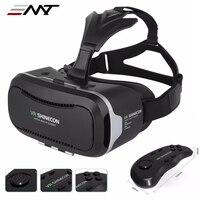 New VR Shinecon II 2 0 Helmet Cardboard Virtual Reality Glasses Mobile Phone 3D Video Movie