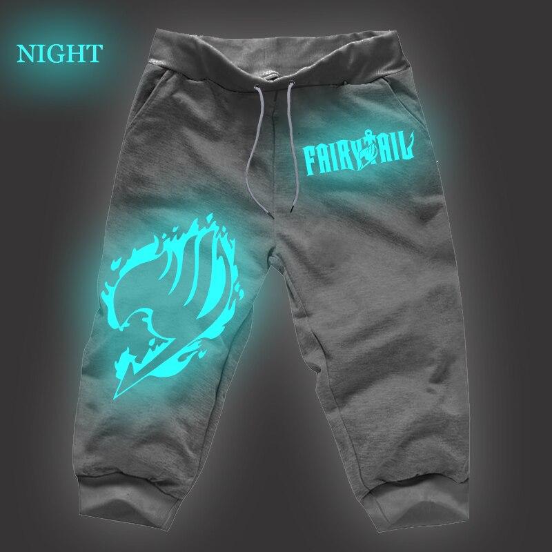 Fairy Tail Joggers Pants Luminous Gray