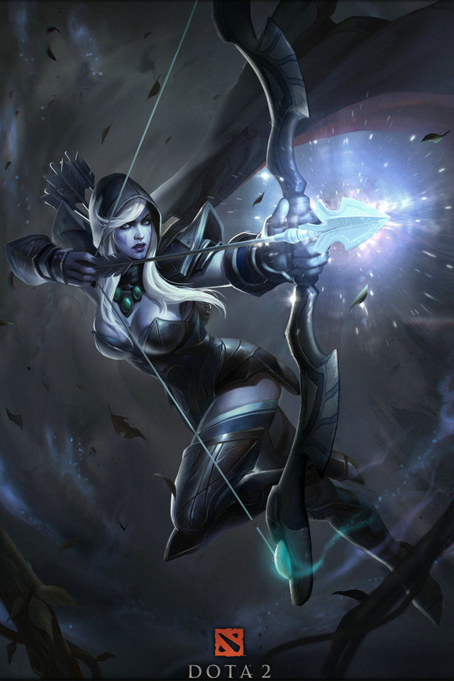 qunexc dota 2 defence of the ancients silk wall poster game