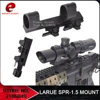 Element Airsoft LaRue SPR 1.5 QD MOUNT For 30mm Diameter Scopes Picatinny Flashlight Mount Picatinny Adapter EX033