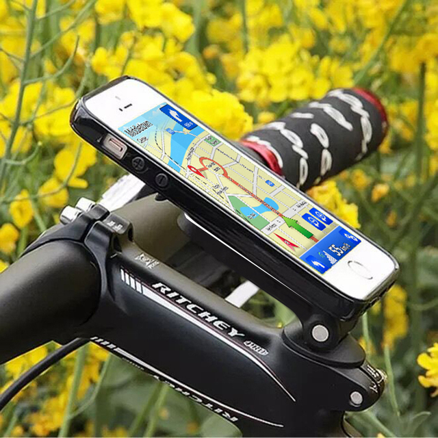 separation shoes 72022 d7108 US $6.27 14% OFF|New For Pad Holder Bike Bicycle Handlebar Mount Cycling  Aluminum Alloy Stand For iPhone 7 7 Plus For Samsung Mobile Phone-in Tablet  ...
