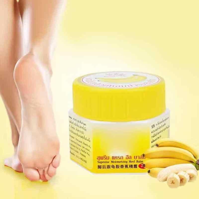 거친 건조한 갈라진 갈라진 발을위한 새로운 갈라진 뒤꿈치 크림은 죽은 피부를 제거합니다 부드럽게 발 금이 간 치료 크림 발 관리