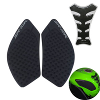Motorcycle Tank Pad Protector Sticker Gas Knee Grip Traction Side 3M Decal For Kawasaki Ninja ZX