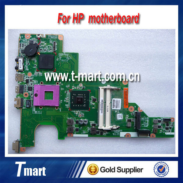 ФОТО for hp cq43 646668-001 laptop motherboard working well and full tested