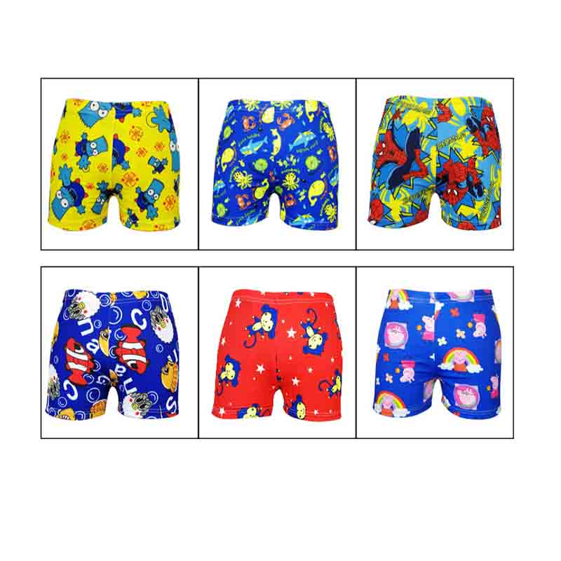 1PCS Beach Swimwear Shorts Ages 3 To 12 Boys Baby Kid Child Swimming Trunks Swimsuit Summer Swim Wear Cartoon Printed Toddler307
