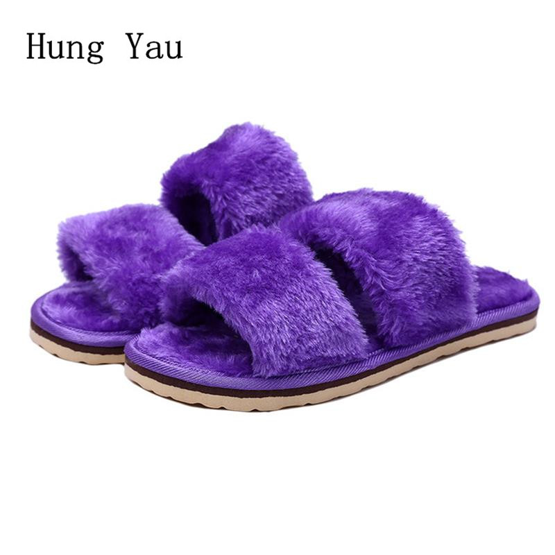 2017 Winter Warm Women Flips Flops Shoes Woman Slippers Fashion Comfortable Female Slides Ladies Shoes Woman Flat Slippers Women women sandals 2017 summer shoes woman flips flops wedges fashion gladiator fringe platform female slides ladies casual shoes