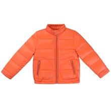 Kids Girls Winter New Children Slim Down Coat Jacket Kids Clothing Pure Colour 6 Colour