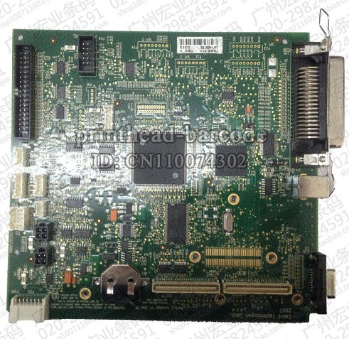 For Zebra ZM400 barcode printer accessories motherboard interface board original disassemble test very good 639521 001 g6 g6 1000 connect with printer motherboard full test lap connect board