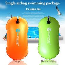 Одиночная подушка безопасности утолщенная купальная упаковка спасательный круг буй предотвращает утопление надувной шаровой поплавок хорошего качества