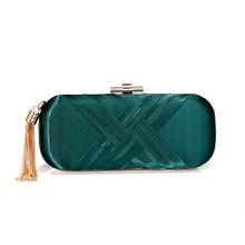 Ladies Shoulder Bag Sac Main Femme Evening Bags Luxury Small Flap Handbags Women Designer Silk Day Clutches