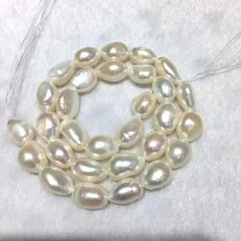 c85e6ea7e8bd AAAAA cultivada redonda perlas de agua dulce perlas naturales blanco  10-11mm aprox 0