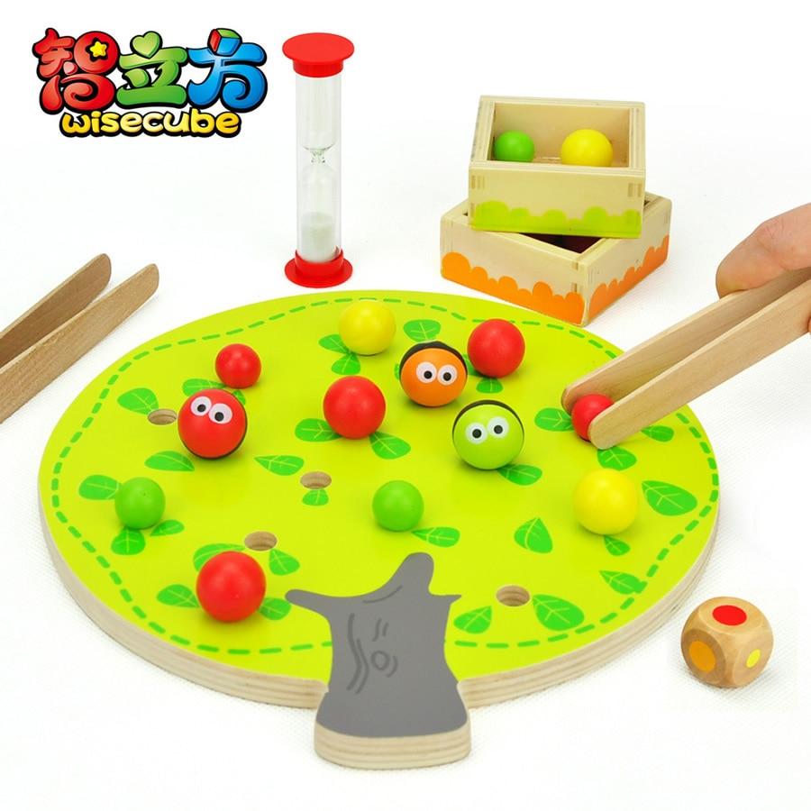 Candice guo Juguete educativo de madera divertido montessori colorido - Nuevos juguetes y juegos - foto 1