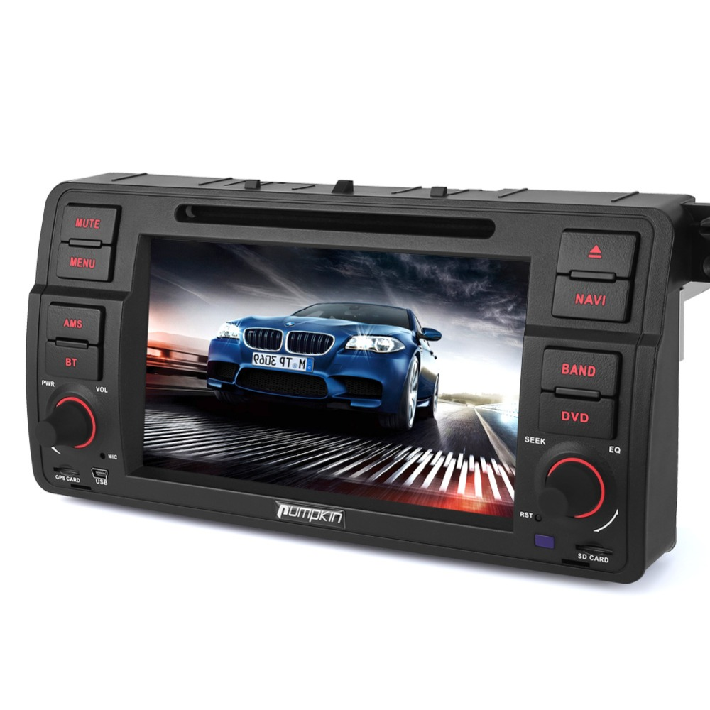 Citrouille 2 Din ''Android 6.0 Lecteur DVD de Voiture Pour BMW E46 Quad-core GPS Navigation Voiture stéréo Bluetooth Wifi FM Rds Radio Headunit