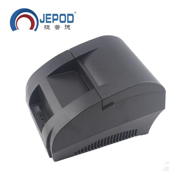 JP-5890K 58mm Stampante Termica per il Supermercato Stampante Termica per Ricevute per il Sistema POS Termica Stampante di Fatturazione per la Cucina