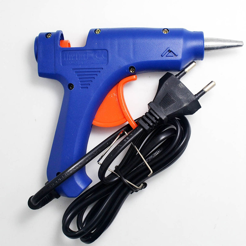 Mini 20w Melt Glue Gun for Sealing Wax Stick 100-240V Professional High Temp Heater Hot Glue Gun Repair Heat tool Fit 7mm Stick sgs 220 degree professional hot melt glue gun 60w 100w double power fit 11 mm stick temperature repair tool glue gun hm8061t