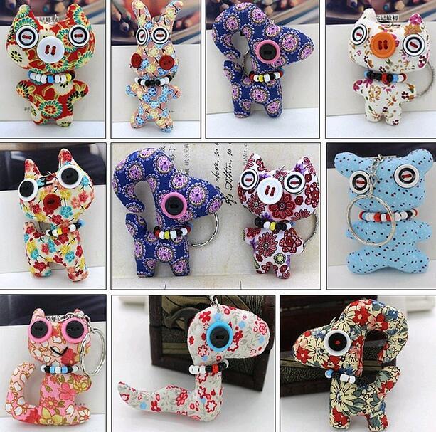 10pcs New Ty Beanie Boos Big Eyes Unicorn Elephant Teddy Turtle Owl Stuffed Animals Clip Key Chain Small Pendant Kids Plush Toy