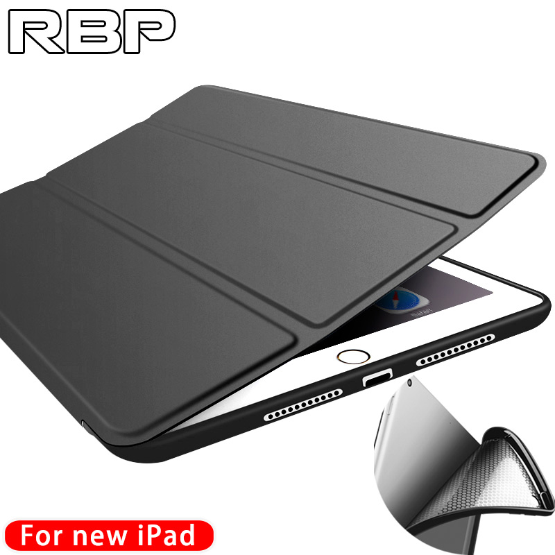 RBP for iPad 2017 case for new ipad protective cover 9.7 inch silicone full package A1822 soft shell for apple iPad 2017 case