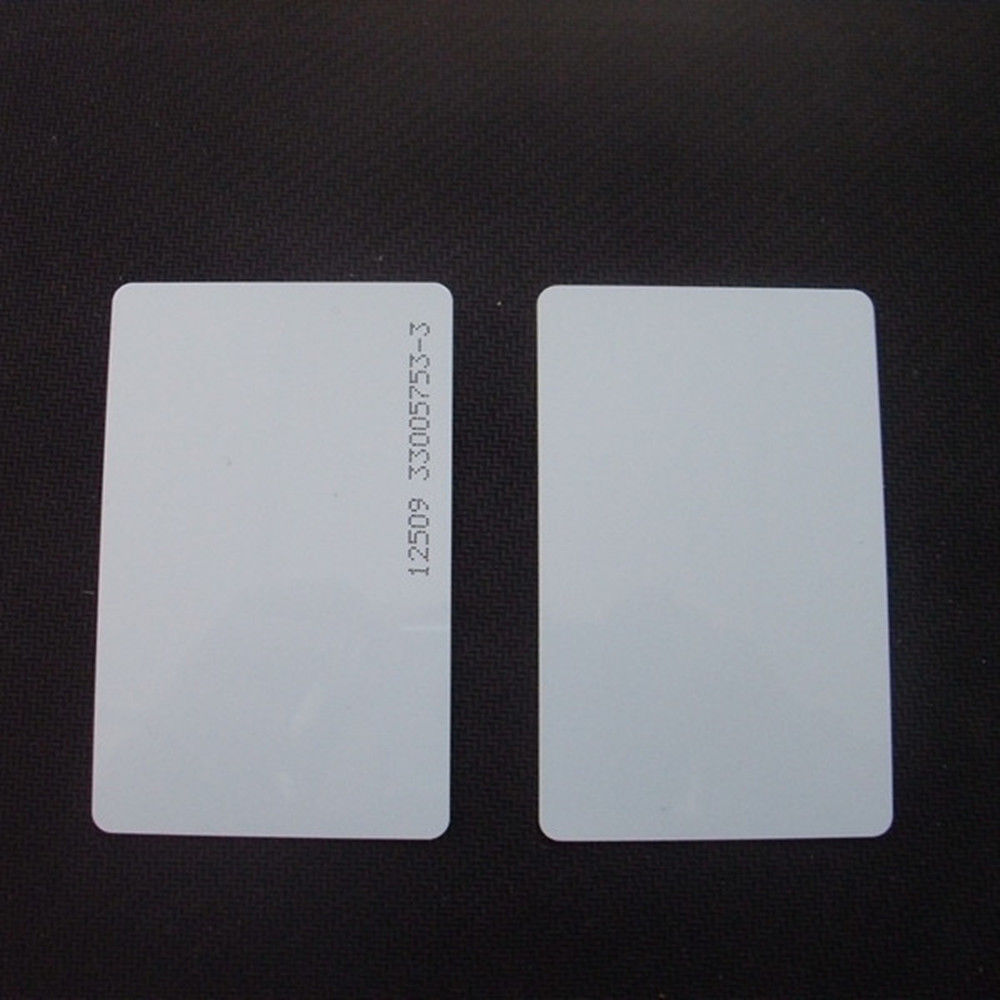 20 PCS Keycards Proximity RFID Card 125Khz EM4100 ID Cards Door Control Entry Access EM Card Read Only m 013 door entrance guard id card white 10 pcs