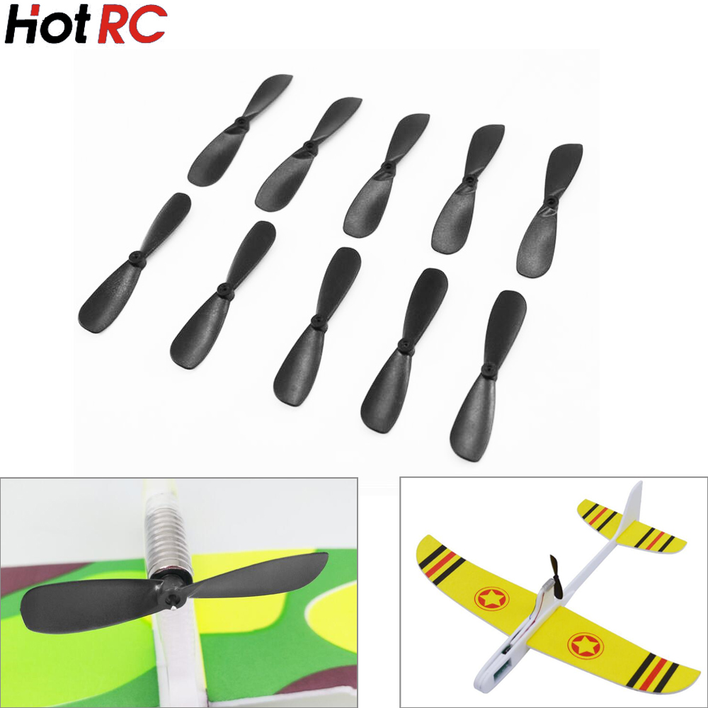 10pcs/lot 46mm Propellers For 614 / 715 Motor For Hand Throwing Capacitance Aircraft Toys