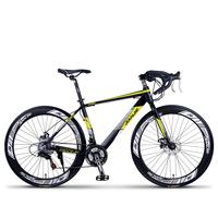 700C 24/27/30 Speed Light Weight Road Bike / City Bike, Professional Racing Bicycle, Aluminum Alloy Frame, Double Disc Brake