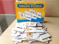 Learning card games jigsaw puzzles for kids zabawki edukacyjne children toys brain games juegos educativos early educational toy